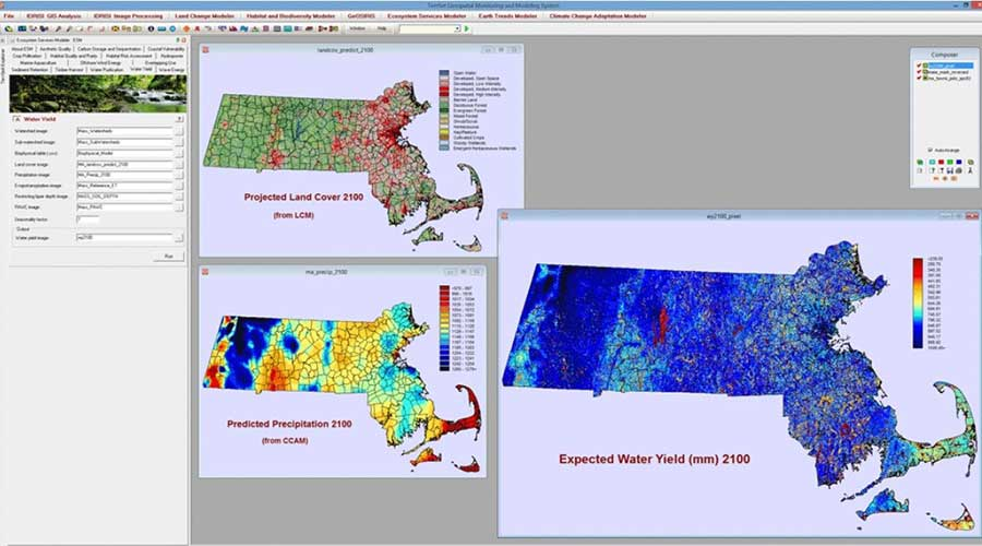Terrset Remote sensing based software