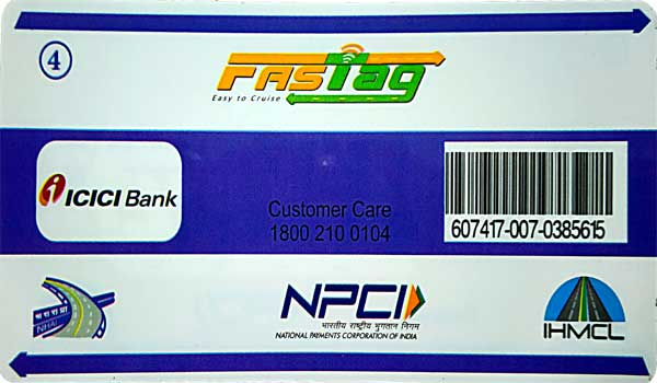 RFID Sticker Fastag