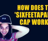 Six Feet Apart cap