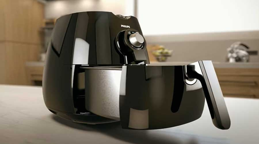Air Fryer Side View